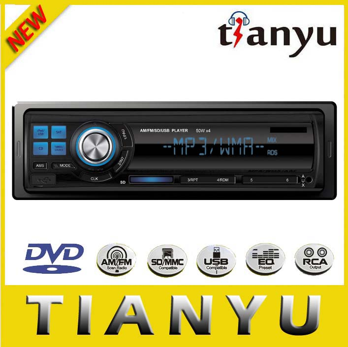 Detachable unlock One Din Car CD DVD Player TY-3222