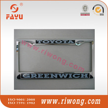 stainless steel number plate frame