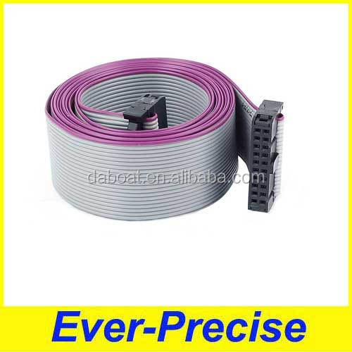 Supply 2.54mm Pitch IDC 20Pin F/F Extension Flat Ribbon Cable 148cm