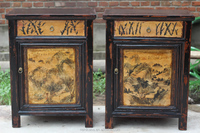 Chinese Antique mongolia painted cabinet