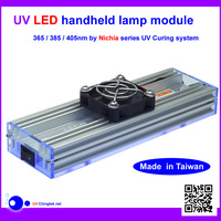 LED UV lamp handheld module 365nm 385nm 405nm high power Nichia UV curing system - A5a7