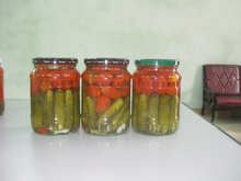 canned mixed fruit for fried food