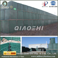 equal hesco/weld wire mesh panel box with fabric
