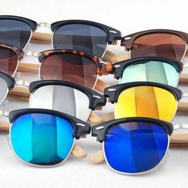 Cheap Price wholesale newest wooden bamboo sunglasses