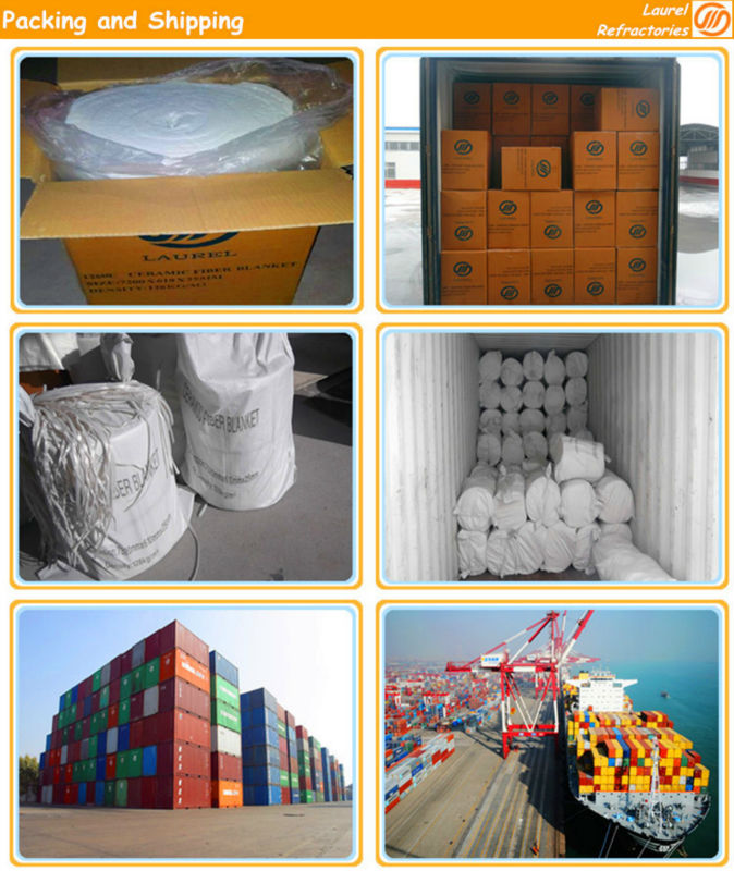 Alumina silicate bio-soluble insulation ceramic fiber blanket price