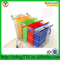 Reusable Shopping Trolley/Cart Bags Includes an Insulated Cooler Bag