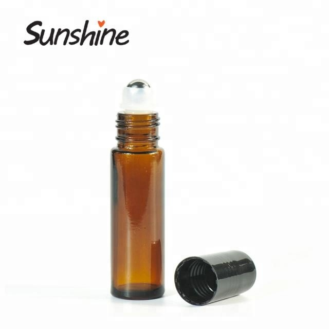 10ml amber glass essential oil roll on <strong>bottles</strong>