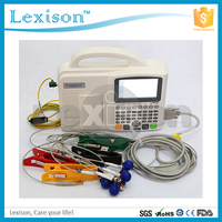 Compact and lightweight design portable 3 Channel price of ecg machine