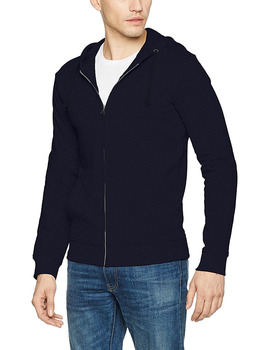 Wholesale plain black blank cotton hoodie custom zip plain hoodies