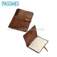 Genuine Leather Notebook Planner Case, Leather Cover Organizer