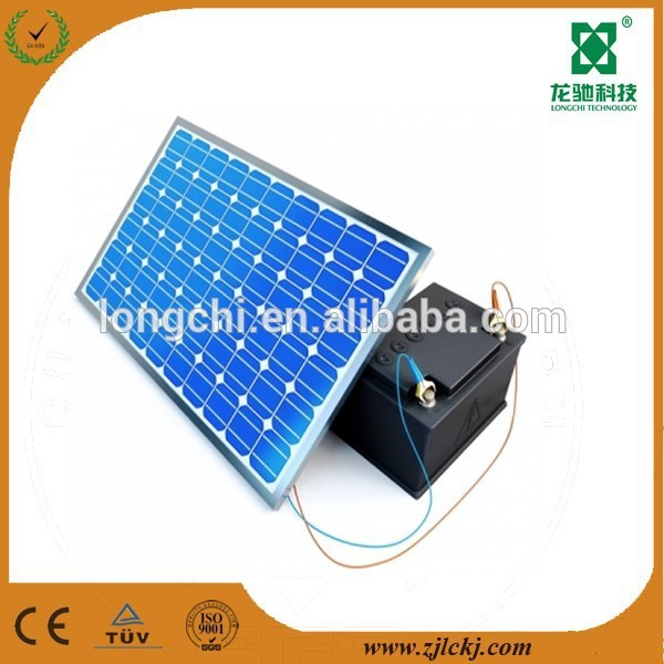 100w polycrystalline colorful solar panels