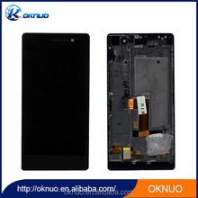 lcd display for huawei ascend ascend g700 Digitizer Touch screen Assembly White color