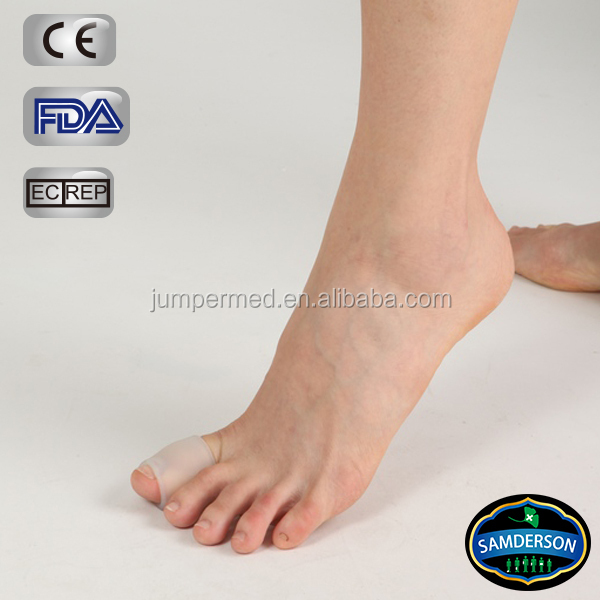 Samderson T1FO-2001 Digit Gel Tube/ Ring- Silicone Gel protects the specific toes afflicted with soft corns, sores