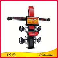 New design 4 wheel 3d used wheel alignment machine for sale