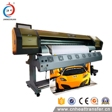 Cheap wide format digital inkjet printer 1.8m dx5 outdoor wall printing eco solvent plotter