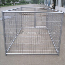 4mx4mx1.83m Dog Kennel Run & Pet Enclosure Run Animal Fencing Fence Playpen