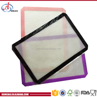 Heat resistant up to 300F silicone baking mat with high quality and good price
