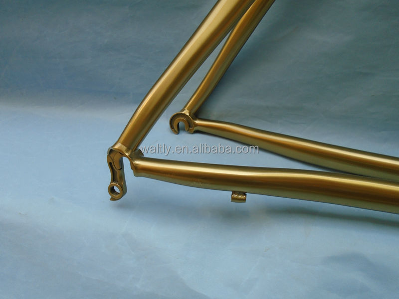 Custom design titanium bicycle frames road bike frame for sale