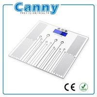 Body Fat Analyzer Health Care Products Digital Body Fat Weighing Scales BMI, CALORIE, BONE, MUSCLE, HYDRATION