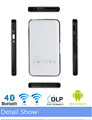 2017 newest 5G WiFi Bluetooth4.0 Android 4.4 1GB+8GB 1000Lums LED smart mini dlp projector