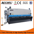 CNC Guillotine Type Hydraulic Shearing Machine for AccurL 2015 CE standard