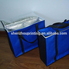 China super quality polyester material clear wine lunch disposable insulated picnic food fresh battery powered cooler bag