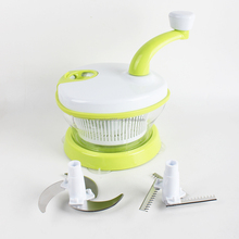 Food Chopper Processor Manual Food Processor Pull & Hand Held Vegetable Chopper / Mincer / Blender