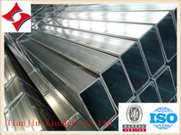 Hot Dipped Galvanized Square/Rectangular ms pipe /steel ube for building in Tianjin Xiushui