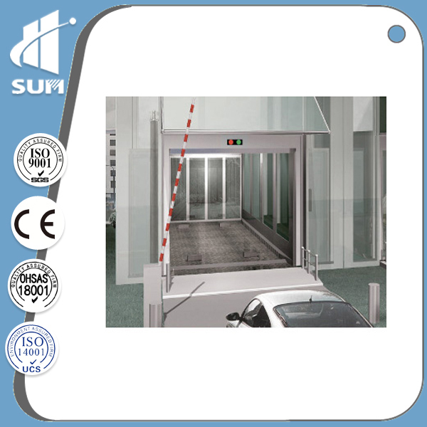 verticle cargo lift car elevator parking systems