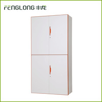 Modern design moisture-proof 4 door steel storage cabinet