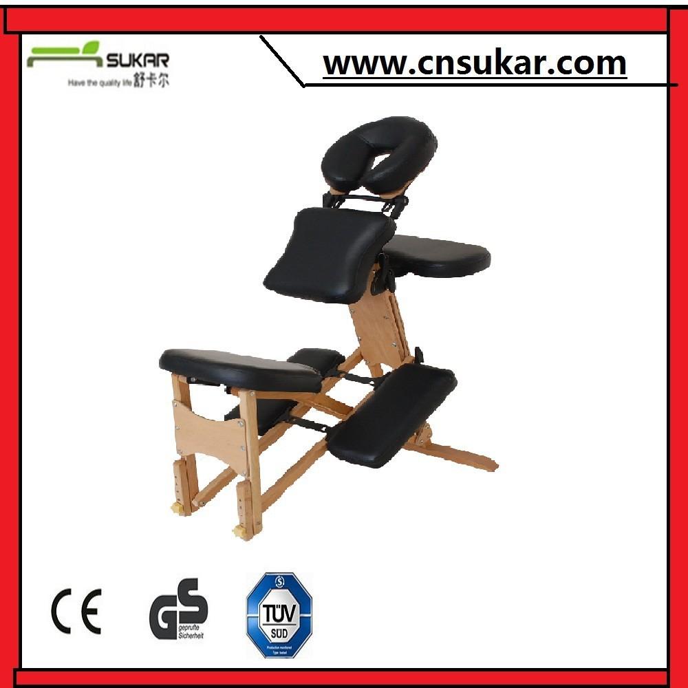 Hot vente pliante en bois chaise de massage appareil de massage id de produit - Chaise de massage pliante ...