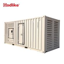 20'GP container type generator price 800 kva soundproof heavy duty generator 800kva container silent canopy generator