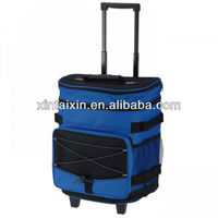 insulated lunch trolley cooler bag fitness cooler lunch bag