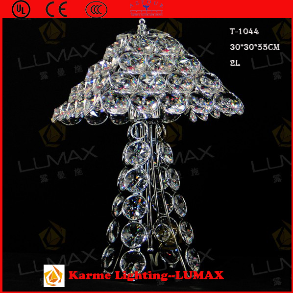 Karme big egypt crystal table lamp #T-1044
