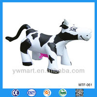Custom inflatable cow, PVC inflatable milk cow, inflatable cow model for promotion