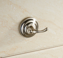 JN18500 Wall Mounted Solid Zinc Alloy Nickel Brushed Wholesale Bath Accessory