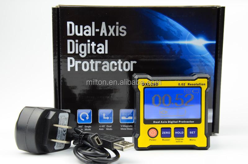 Dxl360 Dual Axis Level Measure Box Digital Protractor