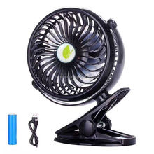 Rechargable Cooling Cooler Mini Fan with Stand Holder For Phone/Tablet Travel USB Fan