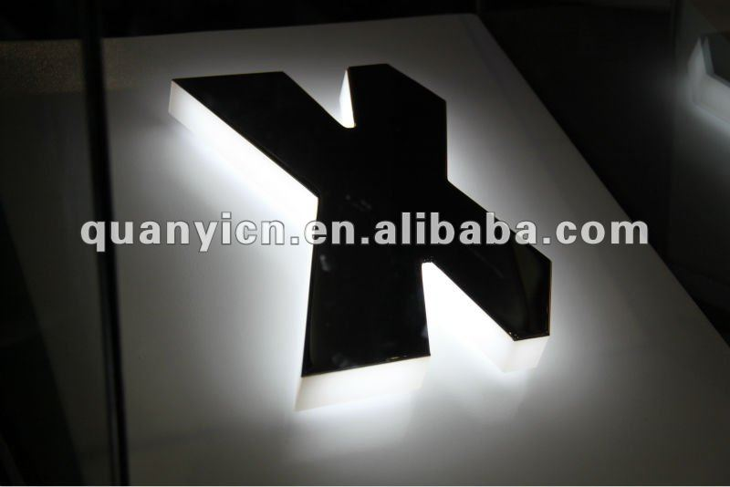 Antirust stainless steel letter of guarantee