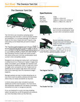 MULTIPLE FOLDABLE TENTS
