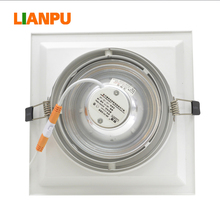 Recessed AR 80 led downlights steel body and led light fittings
