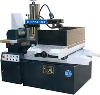 DK7740 wire cutting Machine with CNC control EDM molybdenum wire machine