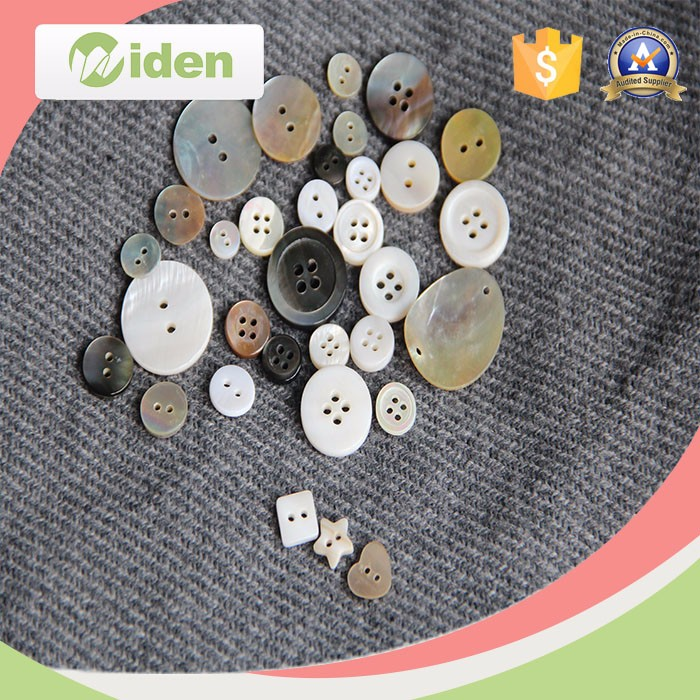 fashion two hole/four hole natural agoya shell button