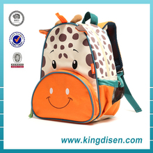 Cute cow toddler 3d animal backpack for kids