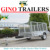 Heavy Duty steel utility trailer for sale