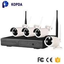 free setting auto connect High quality h.264 4CH 720P wifi camera NVR kit