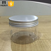 250ml hight quality transparent plastic pet jars with lid for body lotion cream
