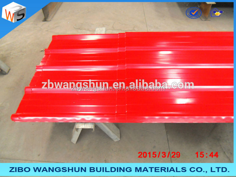 corrugated metal roofing tiles/ color gi corrugated metal sheet