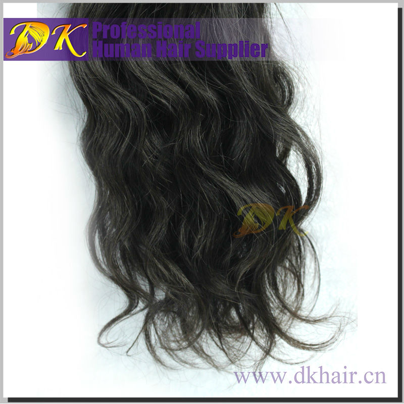100% Virgin Mongolian Wavy Curly Straight dark and lovely hair relaxer