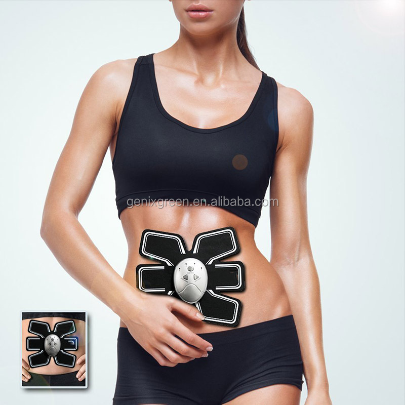 Wireless Smart Abdominal Muscles Intensive Training Device Gear Abs Body Pad Sculpting great EMS Abdominal Exerciser